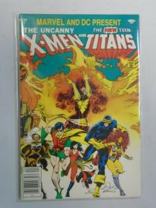 X-Men and the Teen Titans #1 (1982 1st print) 7.5/VF-