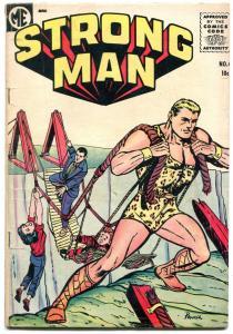 Strong Man #4 1955- Bob Powell- ME Comics VG
