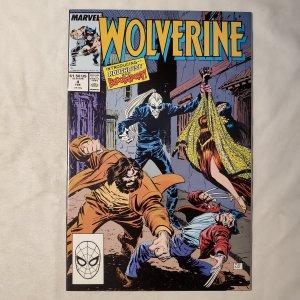 Wolverine  #4 (1989) NM-