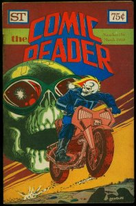 The Comic Reader Fanzine #154 1978- Ghost Rider cover G