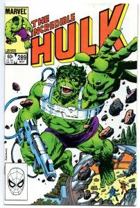 HULK #289, VF/NM, Incredible, Bruce Banner, Buscema, 1968 1983, Marvel
