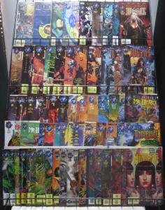 TEKNO COMIX MEGA-LOT! 65 BOOKS! VF-NM! Mr. Hero, Ibots, Lady Justice-Gaiman!