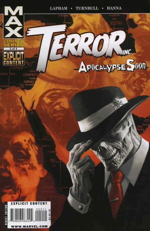 Terror, Inc.—Apocalypse Soon #2 VF/NM; Marvel | save on shipping - details insid