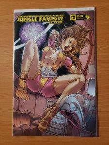 Jungle Fantasy Secrets #2 Rocket Fauna Variant Cover