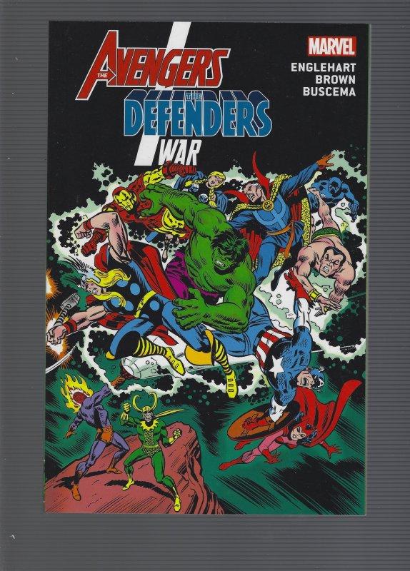 Avenger/Defenders War TPB SRP 19.99
