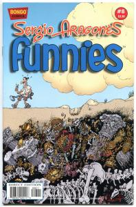 Sergio Aragones - FUNNIES #8, NM, Bongo, Groo / Mad fame, 2011, more in store