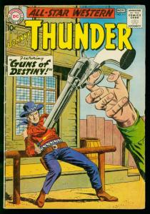 ALL STAR WESTERN #115 1960-JOHNNY THUNDER- DC COMICS- G+