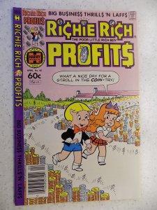 RICHIE RICH PROFITS # 45 HARVEY CARTOON ADVENTURE FUNNY