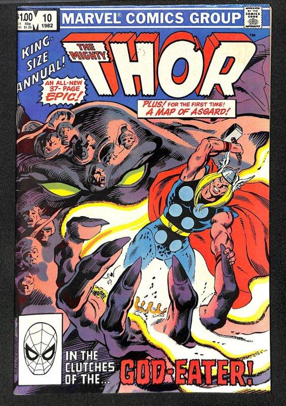 Thor Annual #10 VF- 7.5