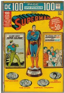 DC 100 PAGE SUPER SPECTACULAR DC-18 VG July 1973