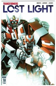 Transformers Lost Light #18 (IDW, 2018) VF
