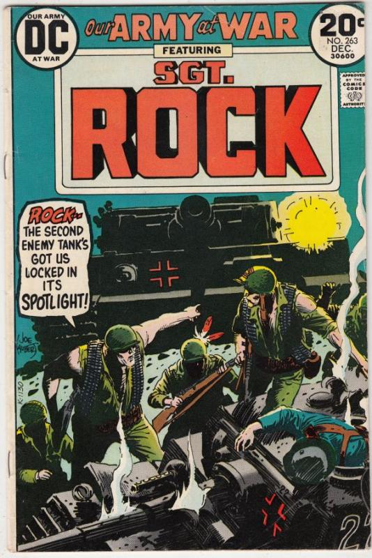 Our Army at War #263 (Dec-73) VF/NM- High-Grade Easy Company, Sgt. Rock