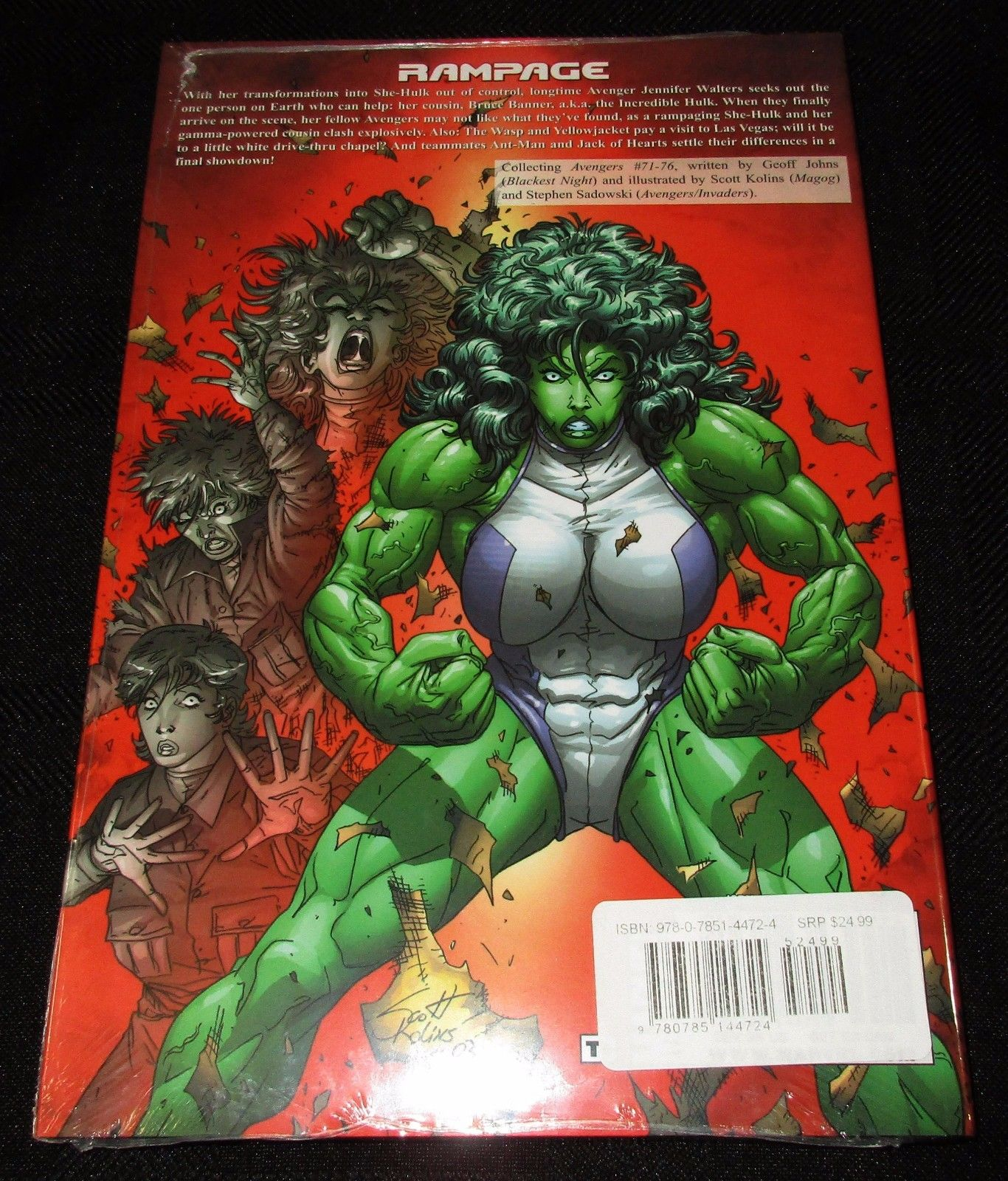 Amazon.com: Avengers Vol. 3: The Search for She-Hulk ...