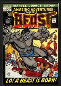 Amazing Adventures #11 FN+ 6.5 1st Beast!