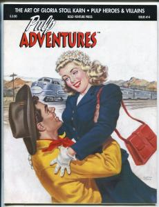 Pulp Adventures #14 2001-Gloria Stoll cover & story-Nils Hardin-Xenophile-FN