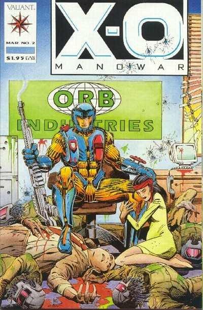 X-O Manowar (1992 series) #2, NM (Stock photo)
