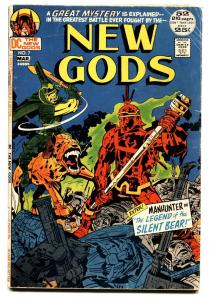NEW GODS #7 comic book 1972 First appearance of Steppenwolf  DC