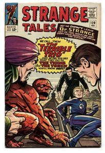 Strange Tales #129 comic book 1965 Human Torch-Thing-Dr Strange Ditko VF
