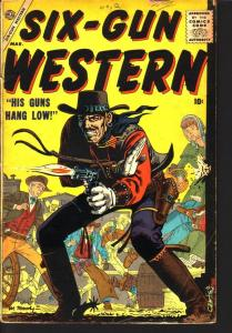 SIX -GUN WESTERN #2 WILLIAMSON ORLANDO MANEELY ATLAS 57 G/VG