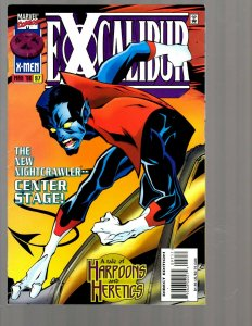 12 Marvel Comics Excalibur # 97 100 101 102 103 104 106 112 113 116 118 119 EK19