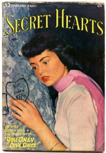 SECRET HEARTS #4 1950-DC ROMANCE-ALEX TOTH VG