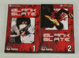 Blank Slate vol. 1-2 VF/NM complete series - shojo beat manga - viz set lot