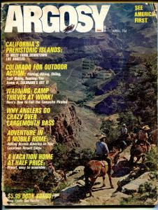 Argosy 4/1972-camp site piracy-pulp-G