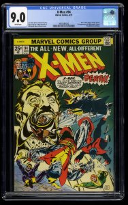 X-Men #94 CGC VF/NM 9.0 White Pages New Team Begins!