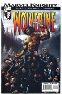 WOLVERINE #16, NM+, X-men, Sabretooth, Rucka, 2003, more in store