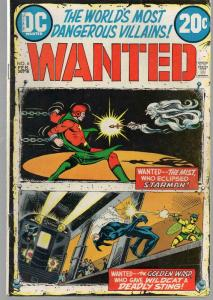 WANTED (1972) 6 G-VG Feb. 1973