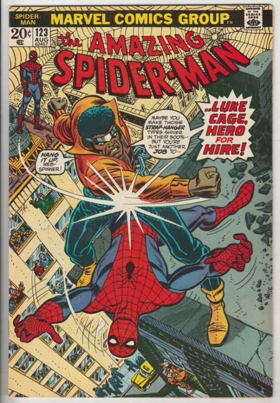 Amazing Spider-Man #123 (Aug-73) VF/NM- High-Grade Spider-Man