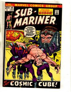 Sub-Mariner # 49 VF Marvel Comic Book Triton Atlantis MODOK Avengers FM2