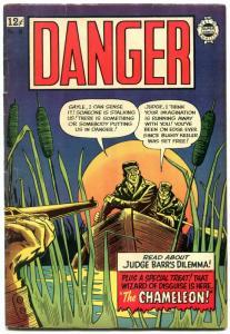Danger #18 1964-Super Golden Age reprints- Annie Oakley- LB Cole FN