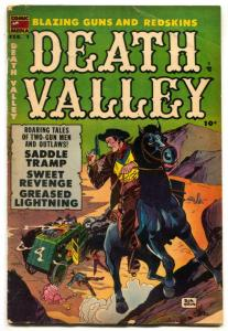 Death Valley #3 1954- Don Heck Western comic VG-