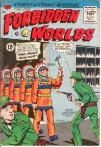 FORBIDDEN WORLDS 123 VG   October 1964 COMICS BOOK