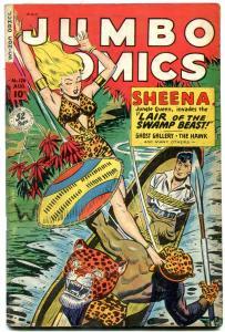 Jumbo Comics #126 1949- Sheena- Matt Baker- Jack Kamen VG+