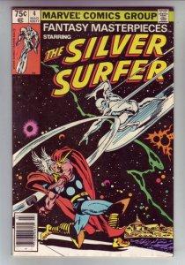Fantasy Masterpieces #4 (Mar-79) NM- High-Grade Silver Surfer, Shalla Bal