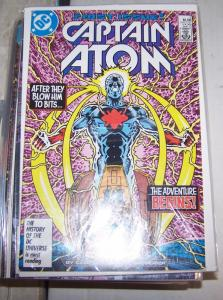 CAPTAIN ATOM  # ,1-57 +ANNUALS DC 1987 COMPLETE FULL RUN