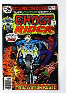 Ghost Rider (1973 series) #18, VF+ (Actual scan)