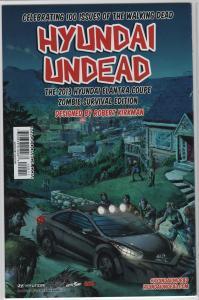 Walking Dead #100 PX Previews SDCC 2012 Sketch Exclusive 1st Negan & Lucille