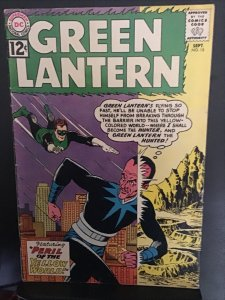 Green Lantern #15 (1962) mid high-grade Senestraro cover key! FN/VF Wow!