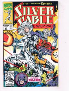 Silver Sable and the Wild Pack (1992) #6 Marvel Comic Book Paladin HH4 AD38