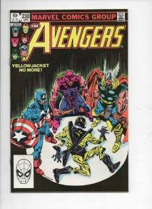 AVENGERS #230, VF, YellowJacket, EggHead, 1963 1983, more Marvel in store