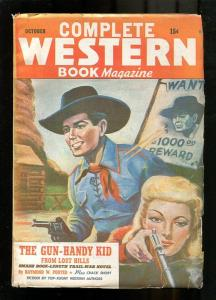 COMPLETE WESTERN PULP-1944-OCT-RAYMOND W. PORTER-RED CI VG