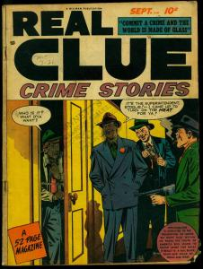 Real Clue Crime Stories Vol.3 #7 1948- Golden Age comic G
