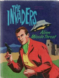 THE INVADERS: ALIEN MISSILE THREAT-1967-WHITMAN-#2012- VG