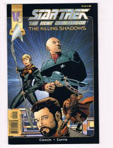 Star Trek: The Next Generation #2 Of 4 FN Wildstorm Comics Comic Book 2000 DE29