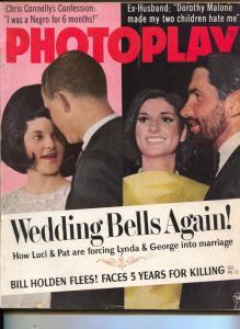 Photoplay-Luci Johnson-Bill Holden-Raquel Welch-Dorothy Malone-Nov-1966