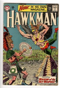 HAWKMAN #1 VG+ 4.5;1st SOLO TITLE;IN BLACK ADAM MOVIE!UNDERVALUED!!