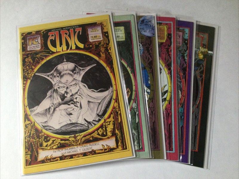 Elric 1-6 1 2 3 4 5 6 Lot Set Run Nm Near Mint Pacific Comics